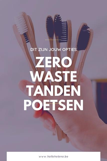 Op deze blog zijn al enkele stukken verschenen over plasticvrij tandenpoetsen. Daarom maak ik graag nog eens een overzicht zodat je eenvoudiger kan bekijken welke optie het beste bij je past. Van bamboe tandenborstel tot zero waste tandpasta, het passeert hier allemaal.