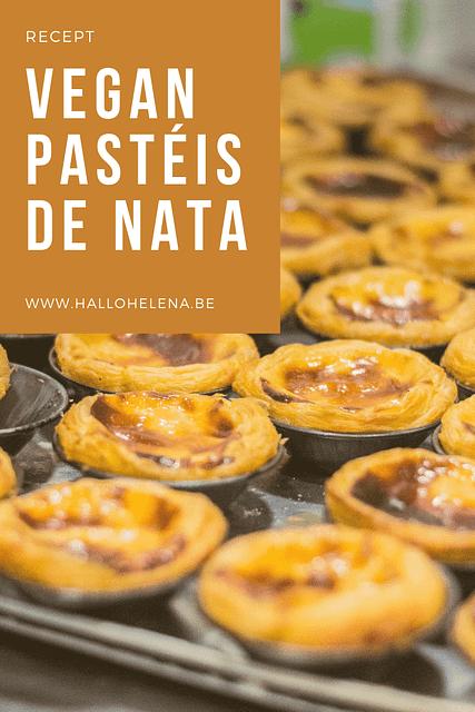 Het recept voor vegan Pastéis de Nata, de bekende custardgebakjes uit Portugal.