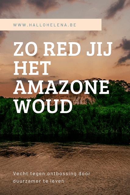 Maak jij je ook zorgen over de aanhoudende ontbossing? Ik wel. Bossen zijn de groene longen van onze planeet, ze zorgen voor zuurstof en houden ons klimaat mee onder controle. Het is dus erg zorgelijk dat er steeds meer groen verdwijnt. Ik schrijf deze blog terwijl er enorme branden woeden in het Amazonewoud enorme branden woeden in het Amazonewoud. Iedereen maakt zich zorgen en roept op om te bidden voor het Amazonewoud. Maar om onze planeet groen te houden moeten we meer doen dan dat. Als je denkt dat je als individu niets kan veranderen, think again. Jij bent een consument die elke dag jouw geld uitgeeft aan verschillende producten. Jouw geld is jouw kracht tegen ontbossing. Je stopt gewoon met het kopen van producten die ons groen negatief beïnvloeden. Als genoeg mensen dat doen, moet een bedrijf wel veranderen als ze nog een grote winst willen boeken.