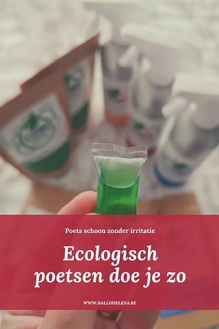 Hoewel schoonmaken niet mijn favoriete bezigheid is, ben ik heel blij dat ik de Ecopods mag testen. Want hoe meer ecologische producten in huis (en hoe minder schadelijke), hoe beter! Ik ging samen met mijn lokale poetsexpert (= ons mama) aan de slag om deze zero waste producten te testen. En of we fan zijn!