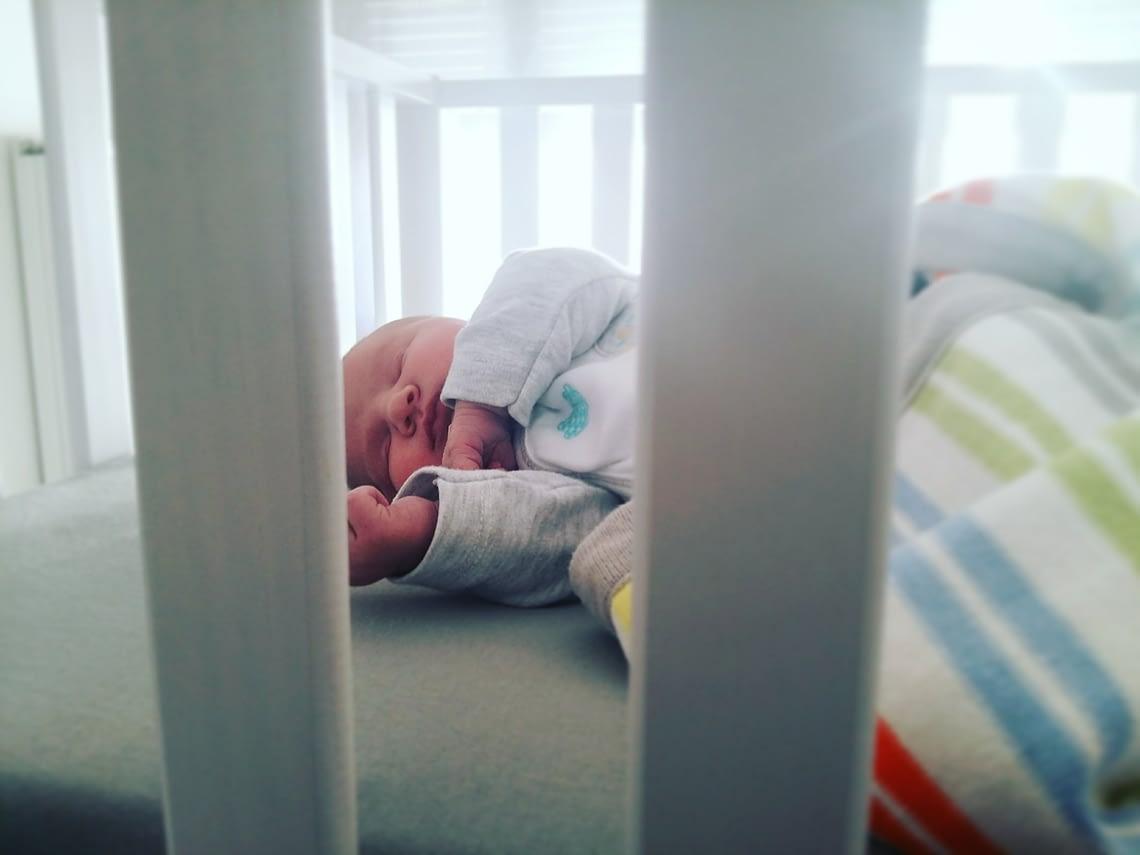 Baby Ellis, vijf dagen na haar geboorte. © HalloHelena