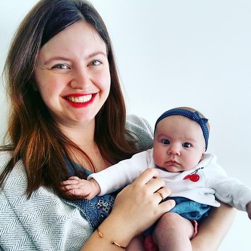 Drie maanden baby Ellis, drie maanden mama Helena.