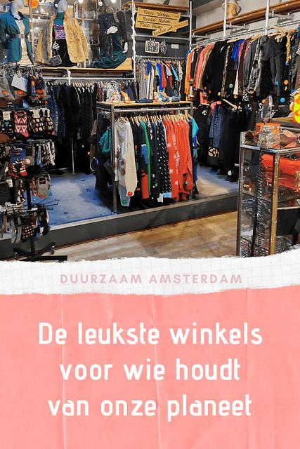 Amsterdam is dé bestemming voor iedereen die duurzaam leeft. Je geraakt er vlot met de trein, het bus- en tramnetwerk is top én er zijn zoveel leuke groene adresjes waar je heerlijk kan shoppen. Geloof me, na één bezoek aan groen Amsterdam wil je meteen je volgende trip boeken.