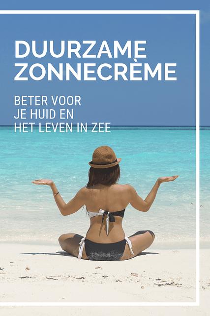 Je smeert je het best goed in met zonnebrandcrème als je naar buiten gaat. Maar dan wel met de juiste. Want wist je dat er in veel zonnecrèmes stoffen zitten die schadelijk zijn voor je huid en het leven in de oceaan?