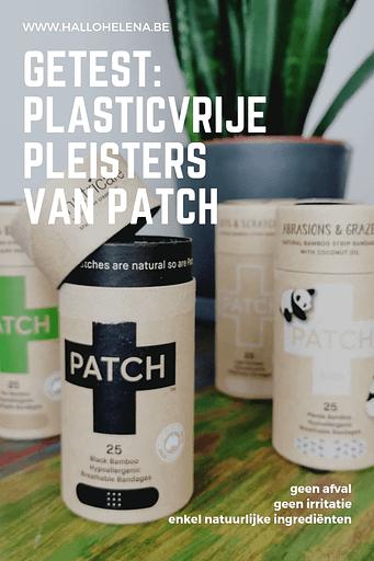 Ik word helemaal blij als ik plastic kan vermijden op plaatsen die niet voor de hand liggen. Zo voelde ik me dus ook toen de plantaardige pleisters van Patch ontdekte. Deze plasticvrije pleisters zijn gemaakt van natuurlijke materialen en zijn volledig biologisch afbreekbaar.