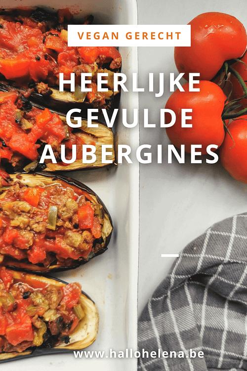 Deze gevulde aubergines zijn een eenvoudig en heerlijk vegan gerecht. Ideaal voor iedereen die graag plantaardig eet en van een ovenschotel houdt!