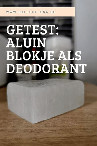 Een volledig natuurlijke deodorant, die geen verpakking nodig heeft en vegan is: maak kennis met het aluin blokje. Een stuk zout dat het zweten vermindert en de geur van zweet neutraliseert.