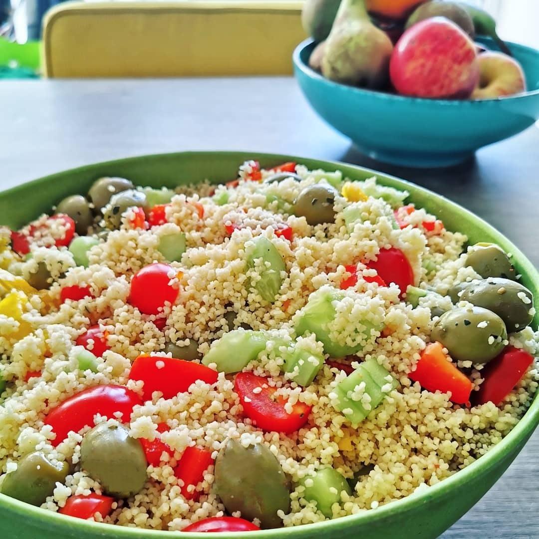 vegan couscoussalade