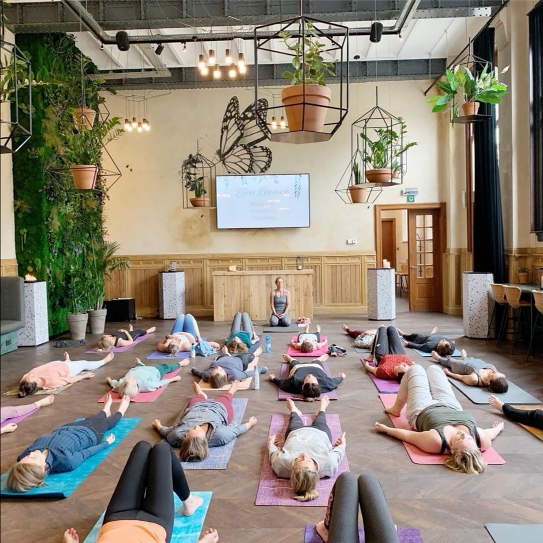 Bliss Brunch. Foto door Yoga by Julz.